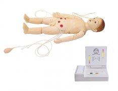 高级多功能一岁儿童综合急救训练模拟人