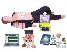 电脑高级心肺复苏、AED除颤仪、创伤模拟人(计算机控制,三合一)