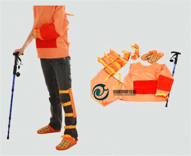 高级着装式偏瘫护理模拟装置