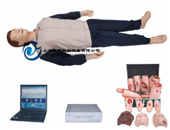 高级心肺复苏、创伤模拟人(计算机控制、二合一功能)