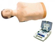 自动体外模拟除颤与CPR模拟人训练组合
